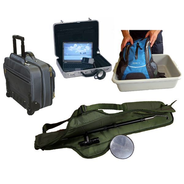 Cases, Containers, Tote Trays and Carry Bags