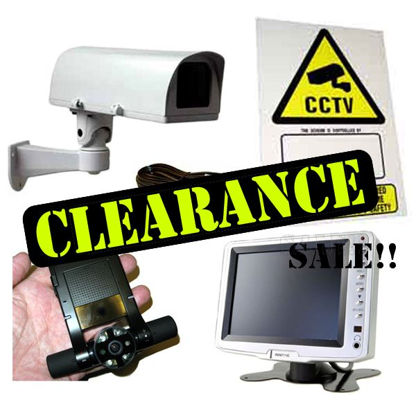 CCTV Clearance Items