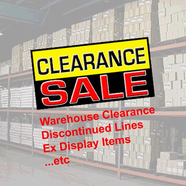 Warehouse Stock Clearance Deals