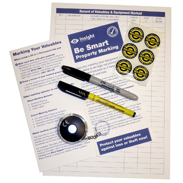 Home Security Marking UV Packs