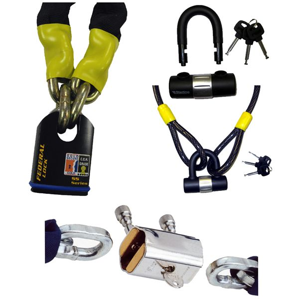 Padlock & Chain / Cable sets Medium Security