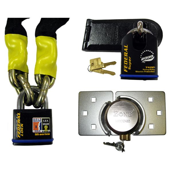 Padlock Sets (with Hasp or Chain)