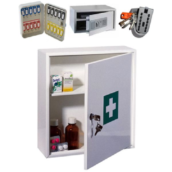 Safes, Key Boxes, Medicine Cabinets