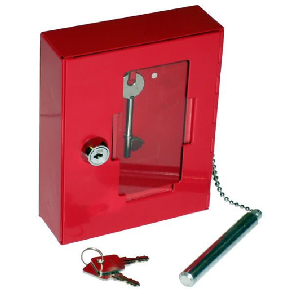 Emergency Key Boxes (break glass type)
