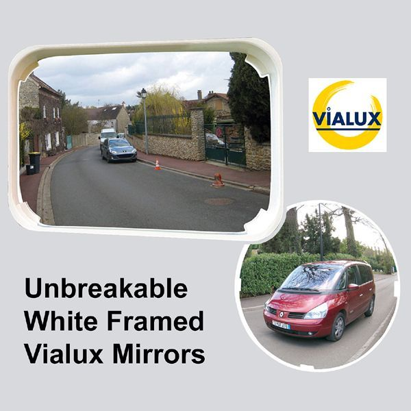 White Framed Classic Multi-Purpose Mirrors
