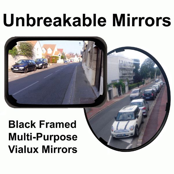 Black Framed Mirrors