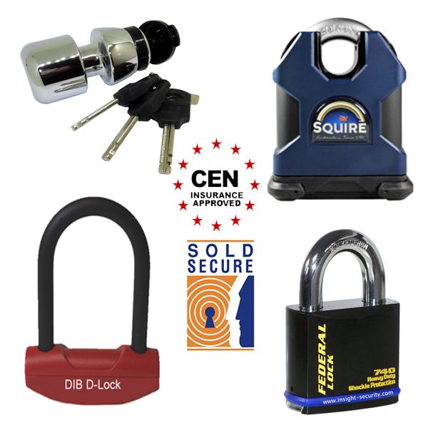 Sold Secure and CEN Rated Padlocks