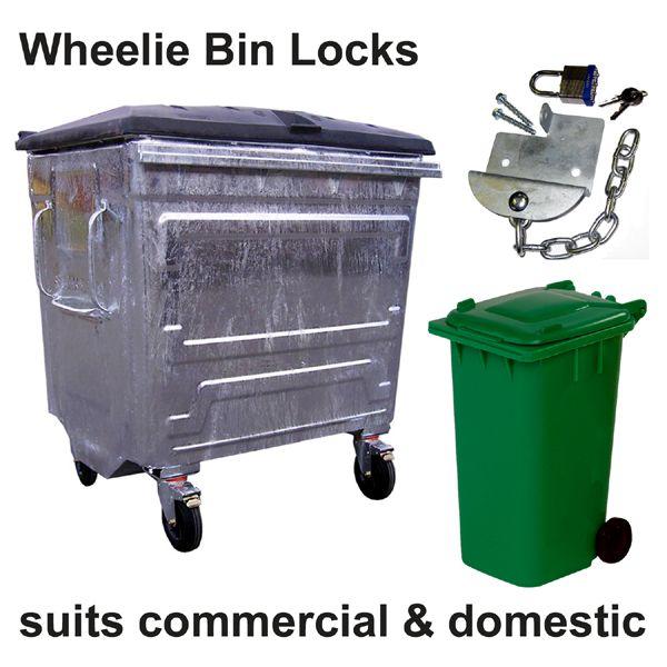 Wheelie Bin Lock by Insight Security