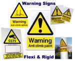Warning Signs - Anti Climb Paint or Spikes