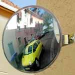 Convex Mirrors for Exits & Driveways