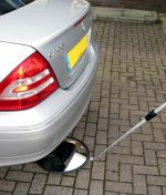 'LED' Under-Vehicle Search Trolley Mirror