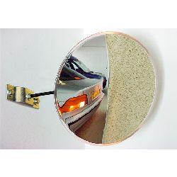 300mm Vialux Unbreakable Parking-Driveway Convex Mirror - MVD 2mtr