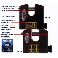 squire combination padlock instructions