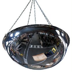 Dome Mirrors for Overhead Installation - choice of sizes