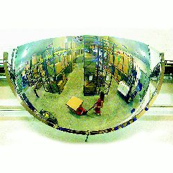 Vialux Half Dome Mirrors - choice of sizes