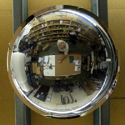 Unbreakable Vertical Dome Mirrors - choice of sizes
