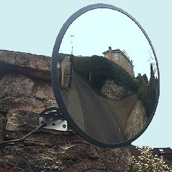 Multipurpose Budget Mirror with wall fixing bracket