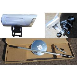 Over-under vehicle 300mm inspection mirror 3 mtr telescopic handle 400 lumen light