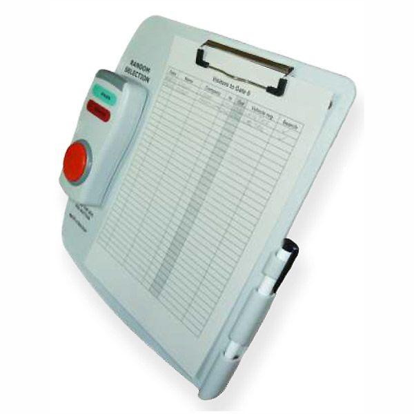 Random Search Selector - Spot Checker (battery power unit on clipboard)