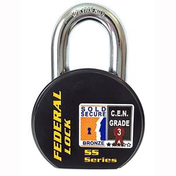 Federal FD900 Sold Secure CEN 3 deadlocking 63mm padlock