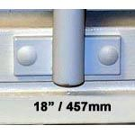 Window Security Bars - Face Fix - Telescopic Adaptabar 18 to 30 inches (457-762mm)