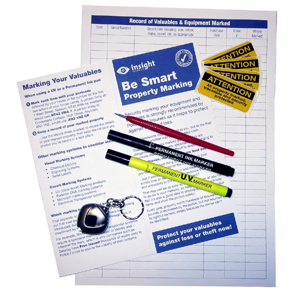Home Security Marking Diamond Scriber Pack