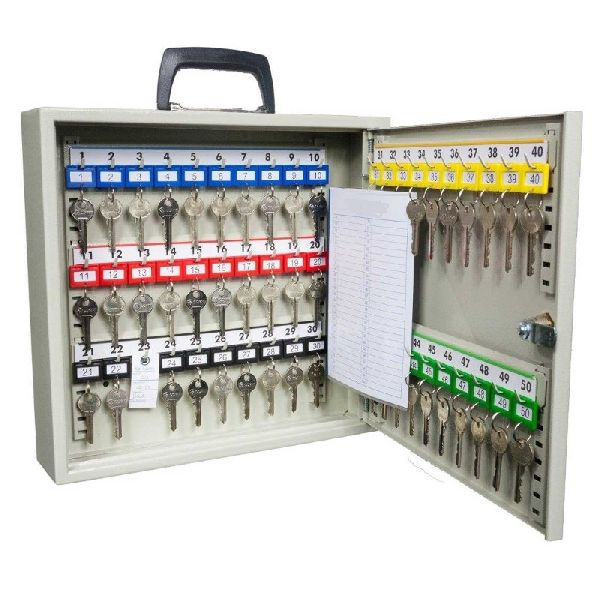 Portable Key Cabinet (50 key hook model) - from Insight Security