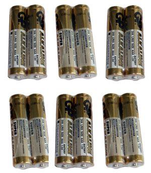 AAA Super Alkaline Batteries - pack of 12