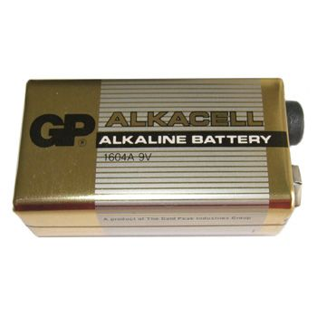 LR1604 (PP3) type Super Alkaline Battery