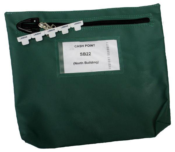 Reusable Zipseal Cash bag size 267 x 267 x 50mm