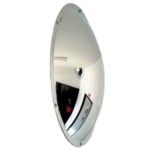 Anti-Vandal Wall Dome or Subway Mirror - Stainless Steel 500mm
