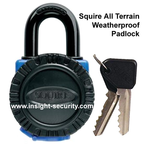 Squire ATL4 - All Terrain Weatherproof 40mm Hardened Brass Padlock