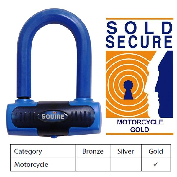 Motorcycle Disc Lock – Squire Eiger Mini