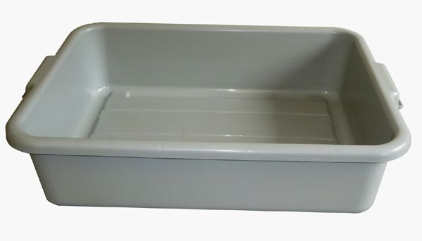 Large Grey Tote Tray – 534 x 394