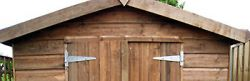 How to improve shed hinge security
