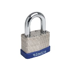 Sterling 30mm Laminated Steel Padlock
