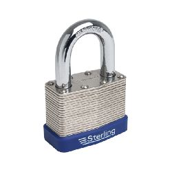Sterling 40mm Laminated Steel Padlock