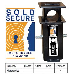 Big Boy Motorcycle Ground Anchor Sold Secure Diamond