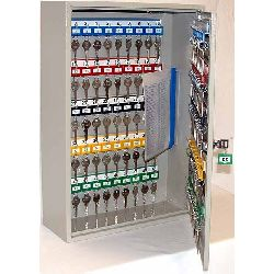 deep key cabinet (100 key hangers) - from insight security