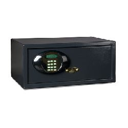 Laptop Safe, electronic digilock with LCD / key override / ext.dims. H-200xW-485xD-360mm