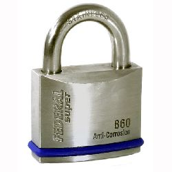 Federal FD860 60mm Stainless Steel Heavy Duty Waterproof Padlock