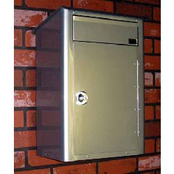 MailPro External - Large Anti Arson Mail Box - Galv.Steel/Painted finish - 1x ALF