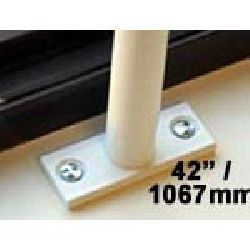 Window Security Bars - Reveal Fix - Telescopic Adaptabar 42 to 54 inches (1067-1372mm)