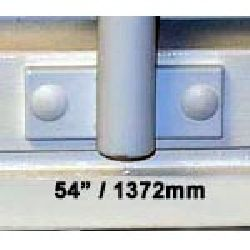 Window Security Bars - Face Fix - Telescopic Adaptabar 54 to 66 inches (1372-1676mm)