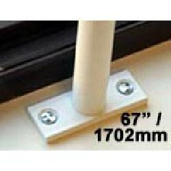 Window Security Bars - Reveal Fix - Telescopic Adaptabar 67 to 79 inches (1702-2007mm)