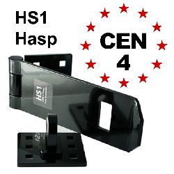 HS1 Heavy Duty Hasp & Staple