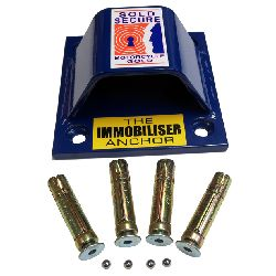 Immobiliser Sold Secure Gold (Motorcycle) Ground Anchor
