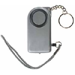 Mini Personal Security Alarm (with torch) - Keyring Model