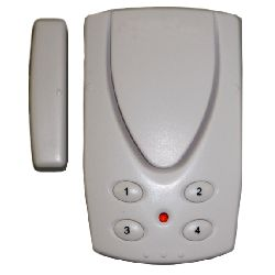 Mini Magnetic Sensor Door Alarm with Keypad