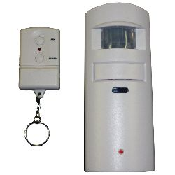 Mini PIR Alarm with Remote Controller